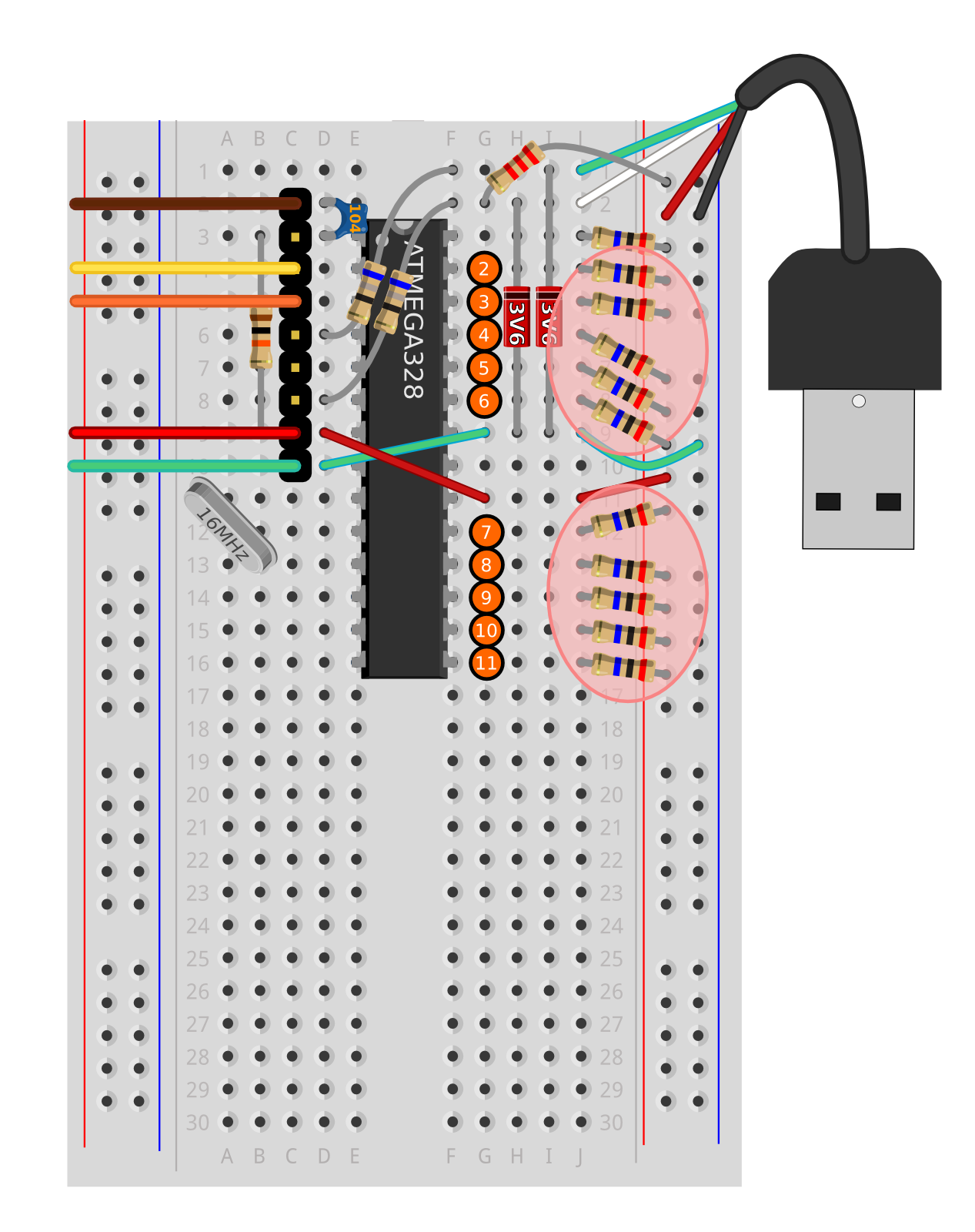 About This Guide Built The Circuit Up On Some Strip Board And Added Banana We Can Have Multiple Different Wires Which Be Monitored Independently In Way You Create A Piano With To 16 Keys