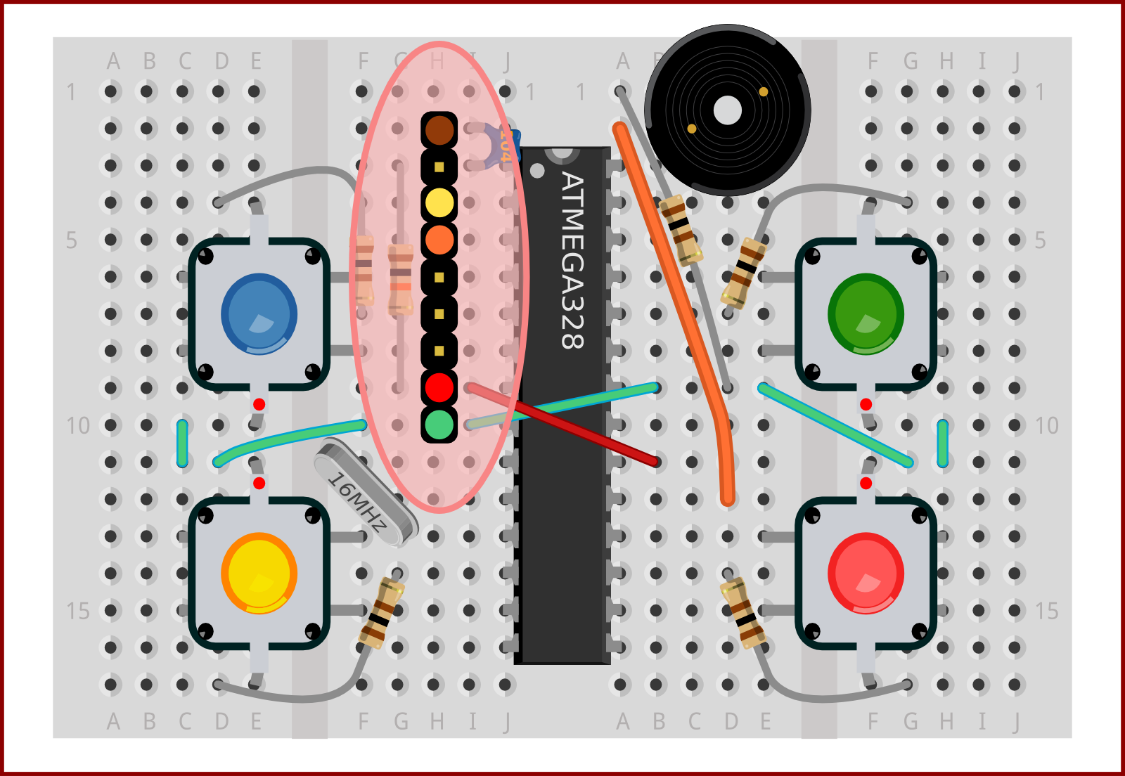 Wiring A Memory Game